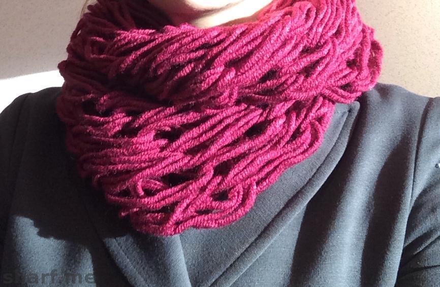 Хомут своими руками шарф
